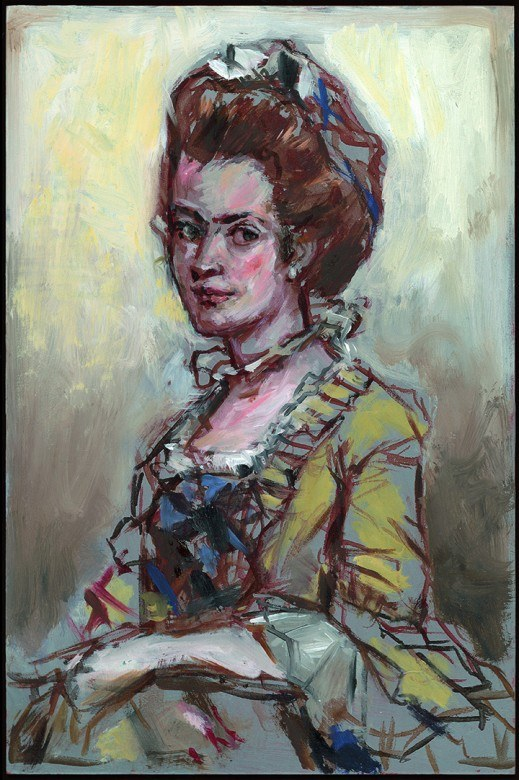 Martha Jefferson Portrait