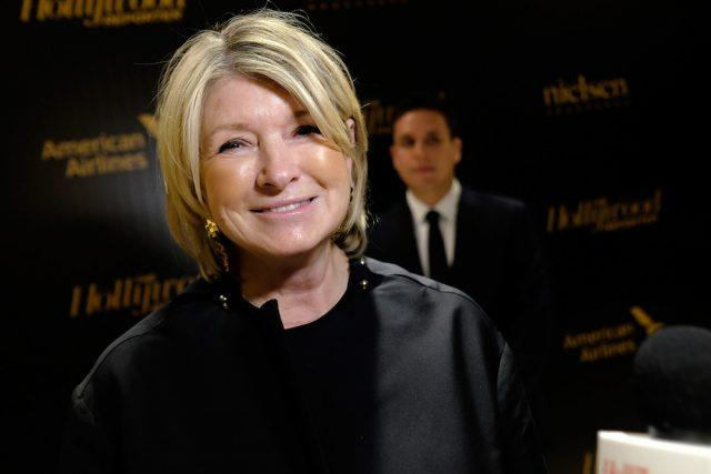 Martha Stewart attends The Hollywood Reporter's 5th Annual 35 Most Powerful People in New York Media