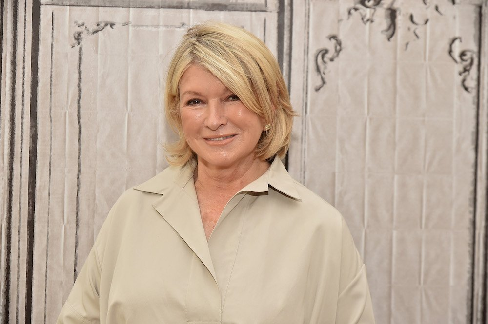 Martha Stewart attends the AOL Build Speaker Series