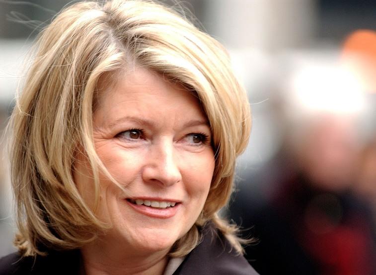 Martha Stewart arrives in court