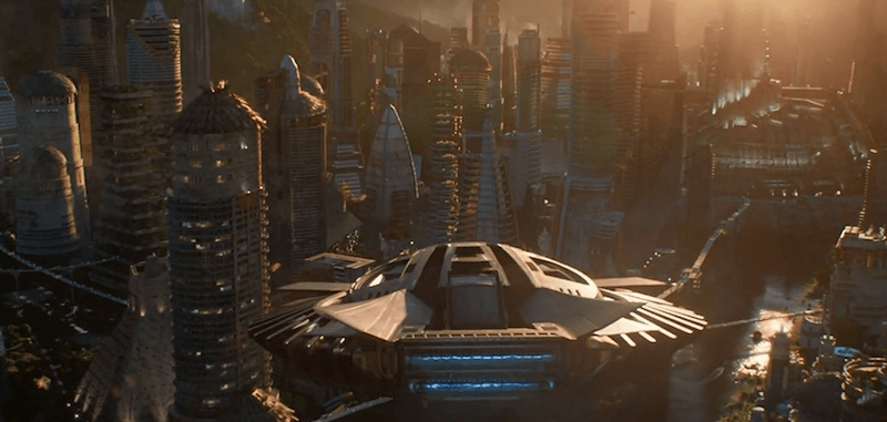 The city of Wakanda