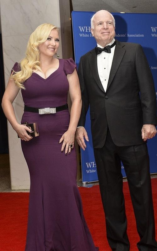 Sen. John McCain and Meghan McCain