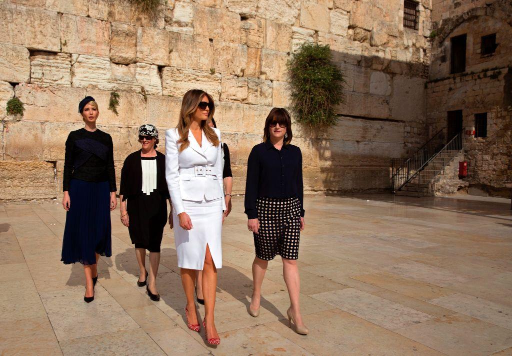 Melania Trump Jerusalem