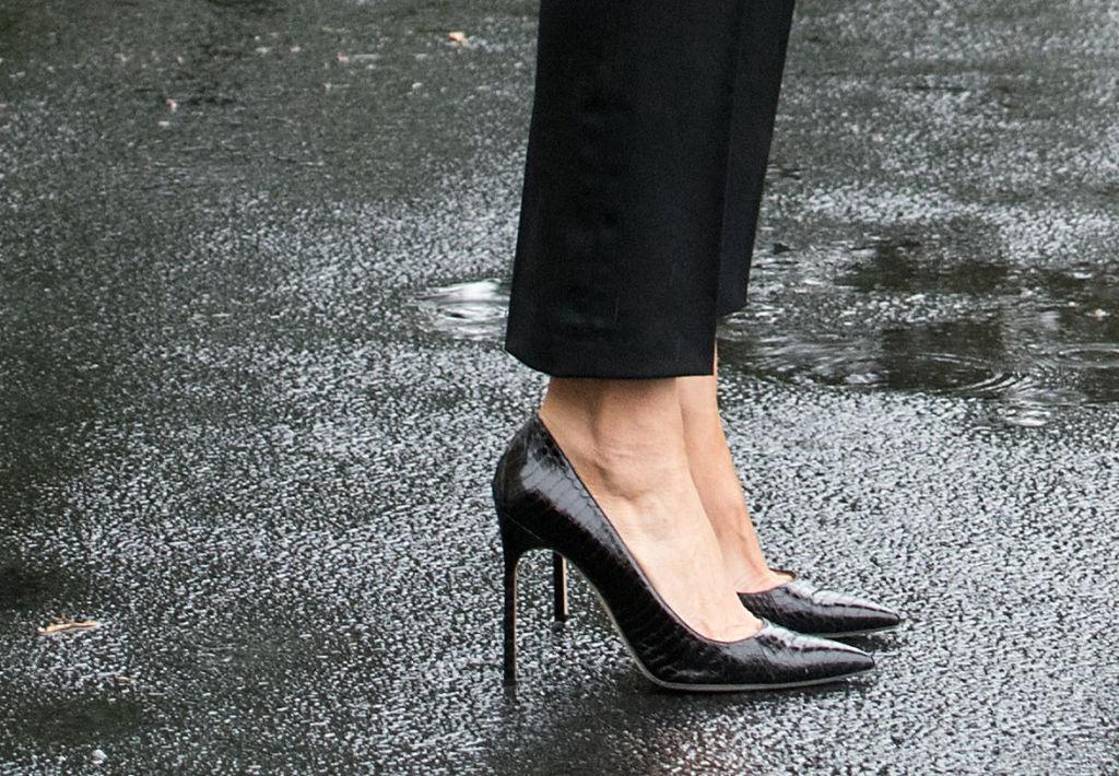 Melania Trump heels Texas