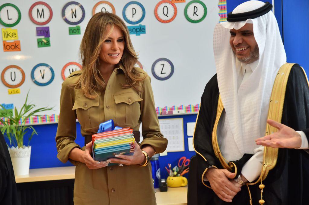 Donald and Melania Saudi Arabia