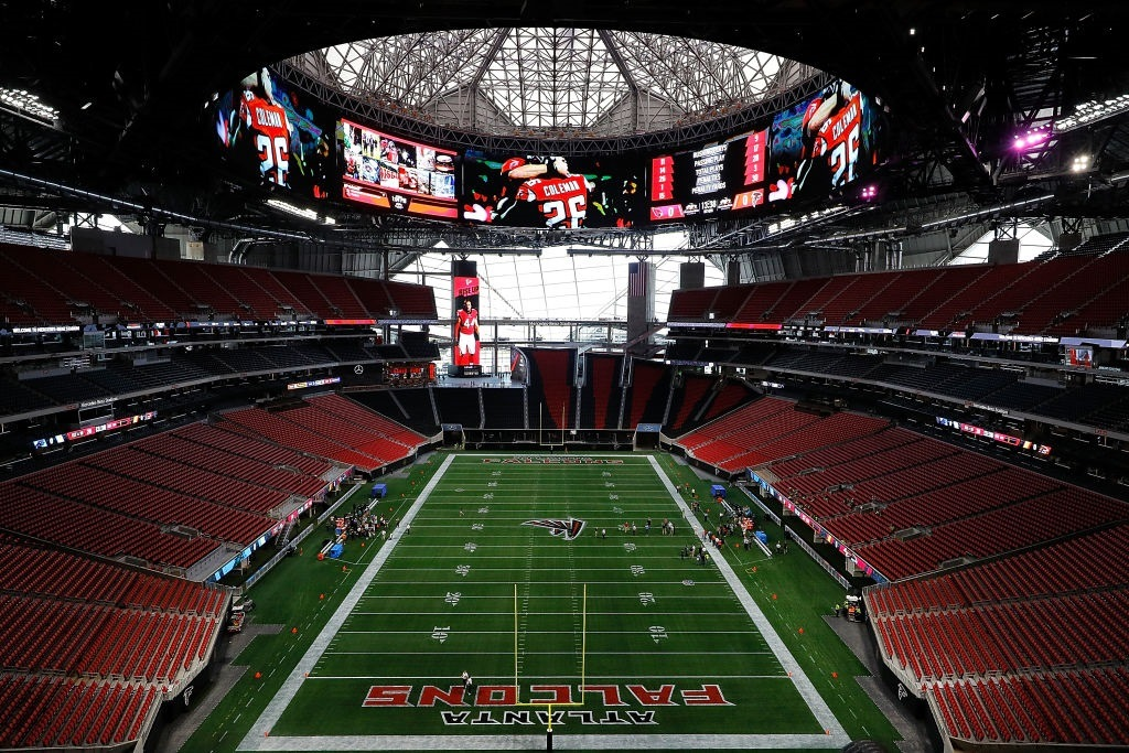 Atlanta's Mercedes-Benz Stadium
