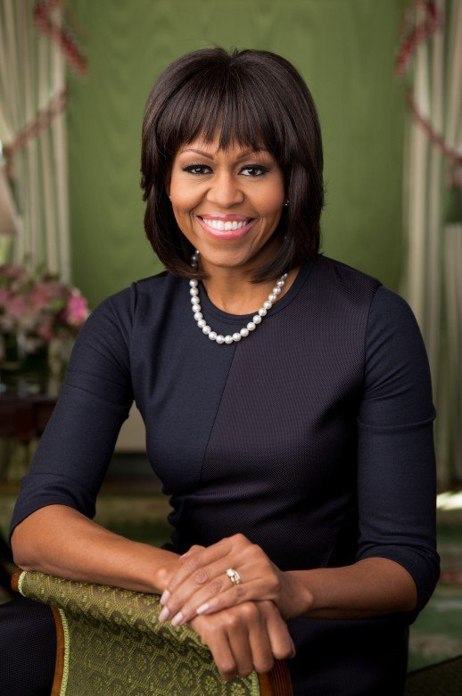 Michelle Obama portrait