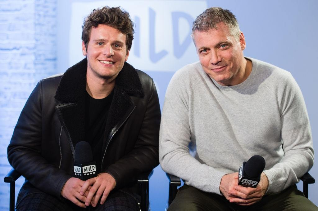 Actors Jonathan Groff and Holt McCallany