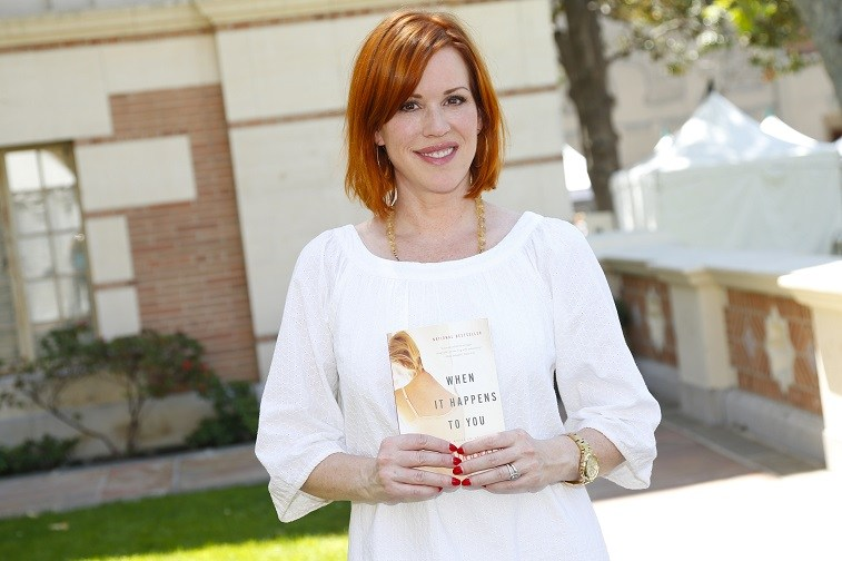 Actress Molly Ringwald