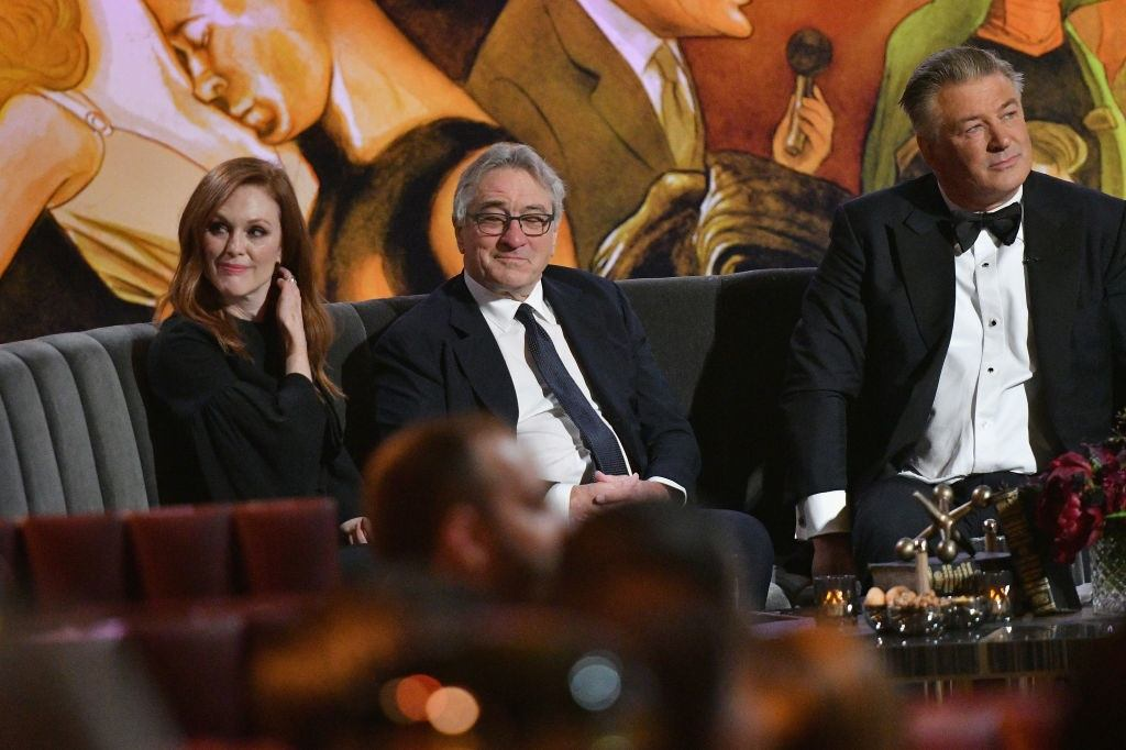 Actors Julianne Moore and Robert De Niro