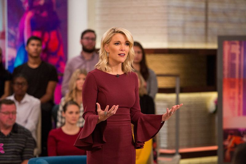 Megyn Kelly on her show on Tuesday, October 3, 2017