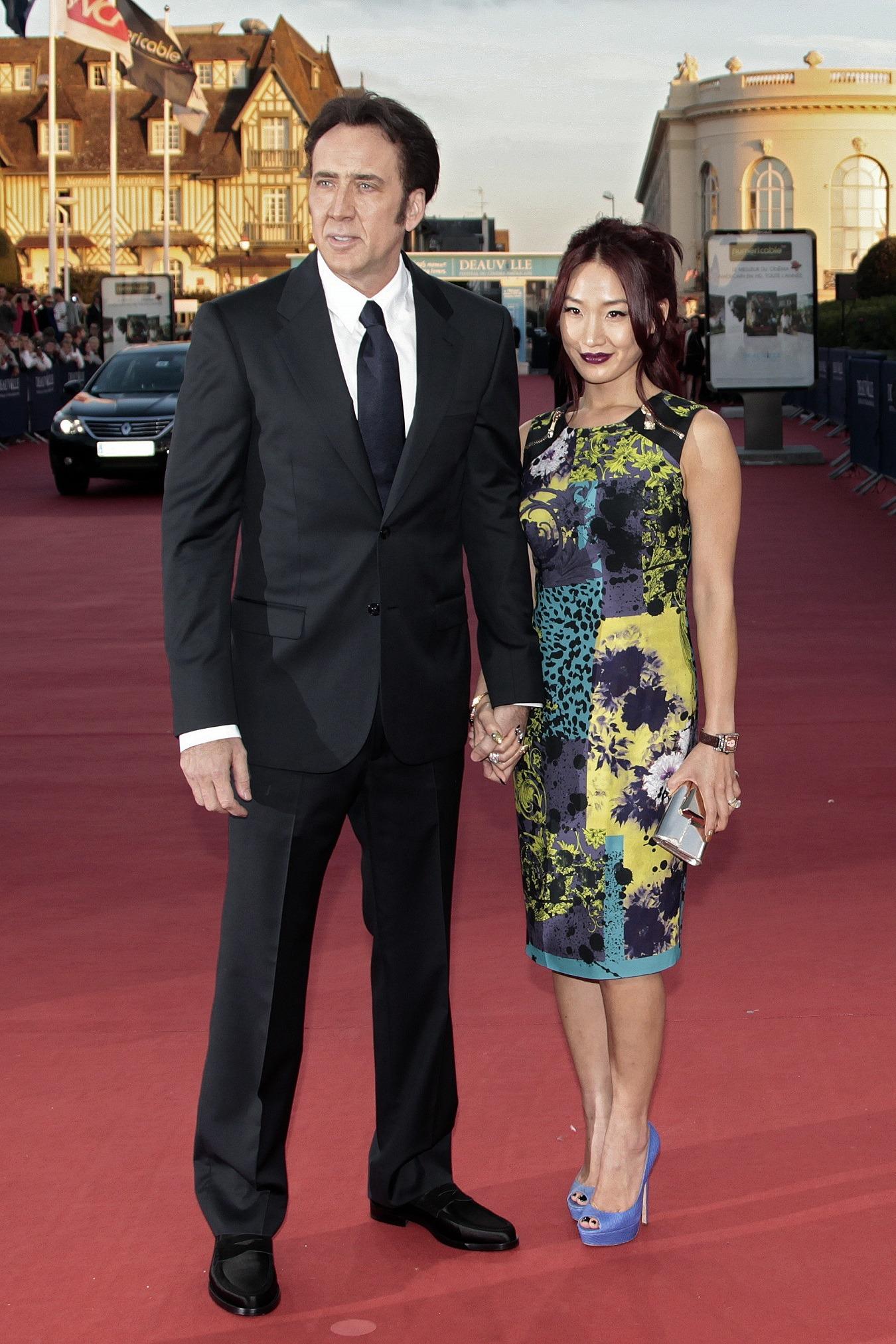 Nick Cage and Alice Kim
