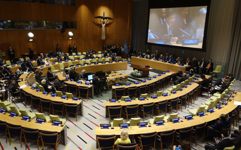 Treaty on Prohibition of Nuclear Weapons signed