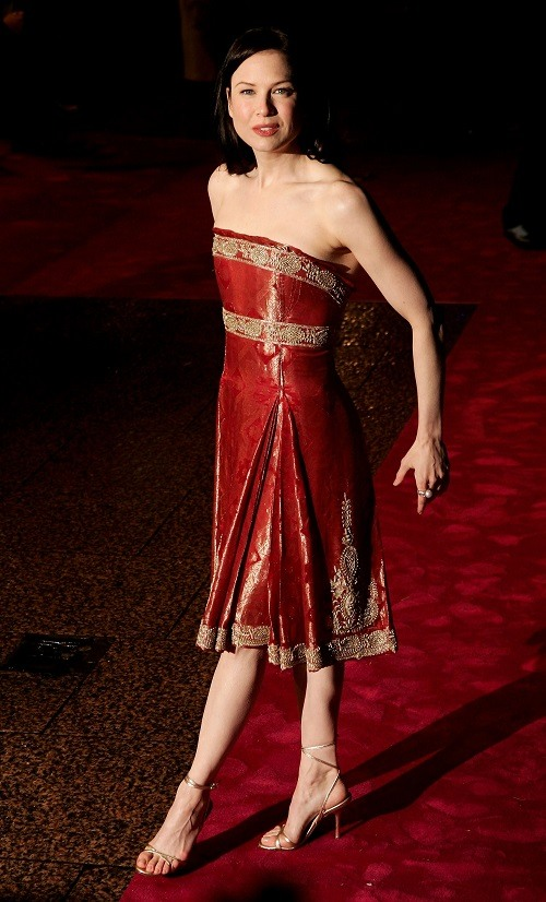 Renee Zellweger at a premiere