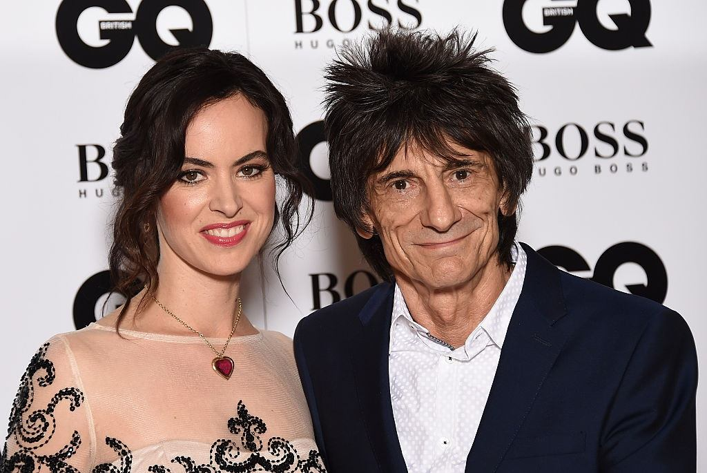 Ronnie Wood and wife Sally Humphreys