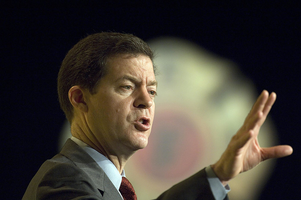 Sam Brownback, governor of Kansas
