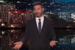 Jimmy Kimmel Hopes to Eventually Focus Less of His Show on Donald Trump