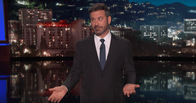 Jimmy Kimmel on 'Jimmy Kimmel Live'.