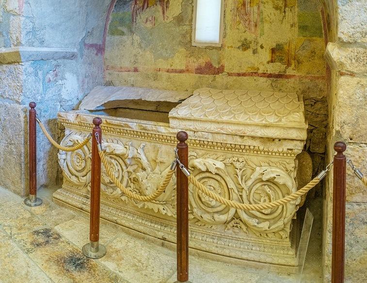 Sarcophagus of St. Nicholas