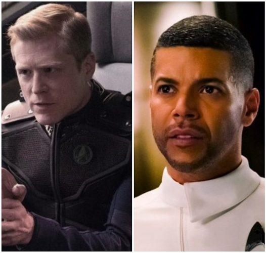A collage featuring Anthony Rapp and Wilson Cruz.