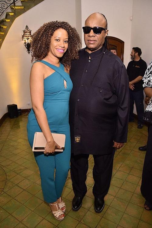 Stevie Wonder & Tomeeka Robyn Bracy