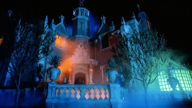 The Haunted Mansion at Disney World