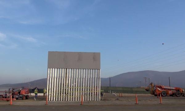 Trump wall prototype