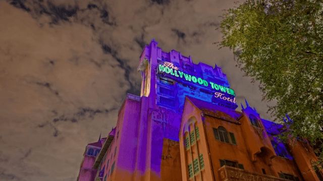 Twilight Zone Tower of Terror at Disney World