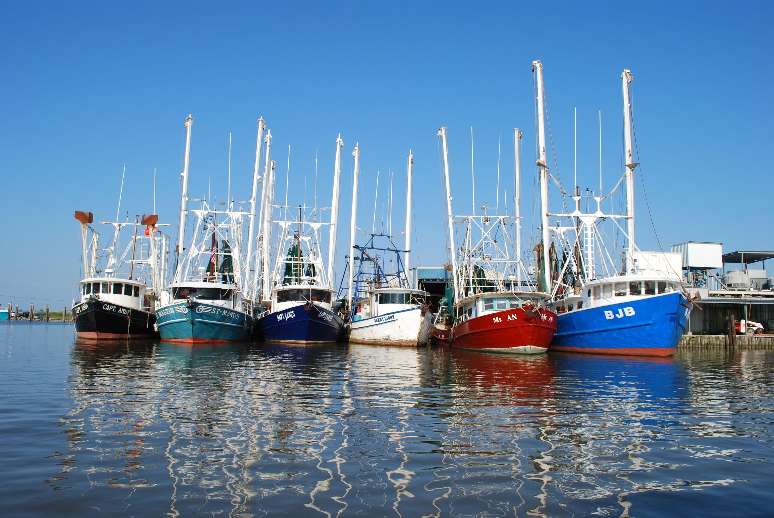 Venice, Louisiana, boats