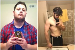 2 Easy Habits Helped This Man Lose 40 Pounds in 4 Months