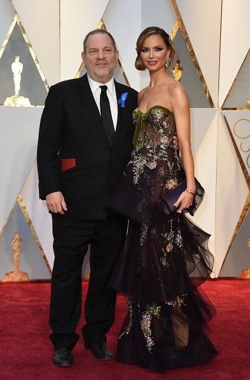 Harvey Weinstein and wife Georgina Chapman