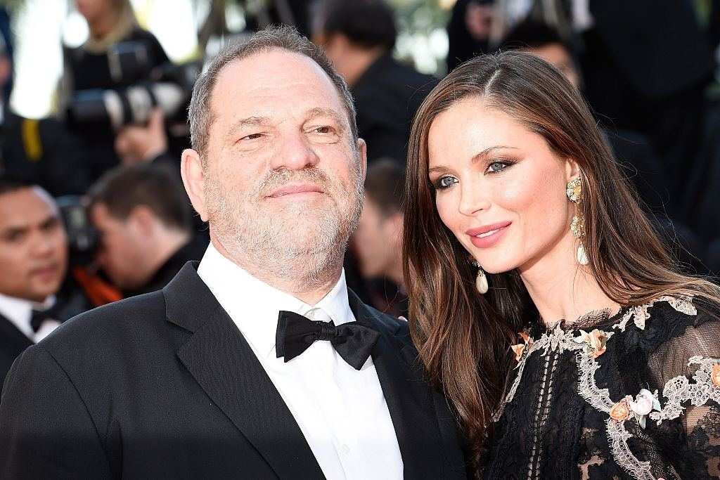 Producer Harvey Weinstein and wife Georgina Chapman