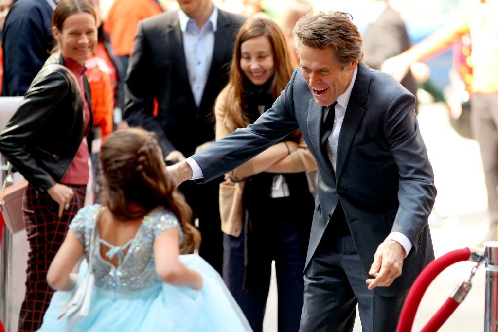 Actors Brooklynn Prince and Willem Dafoe