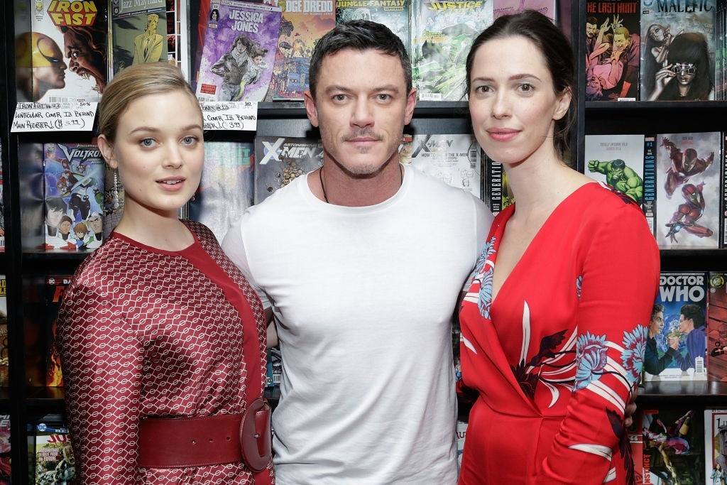 Bella Heathcote, Luke Evans, & Rebecca Hall
