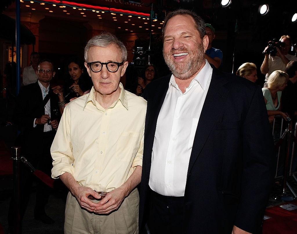 Woody Allen and Harvey Weinstein