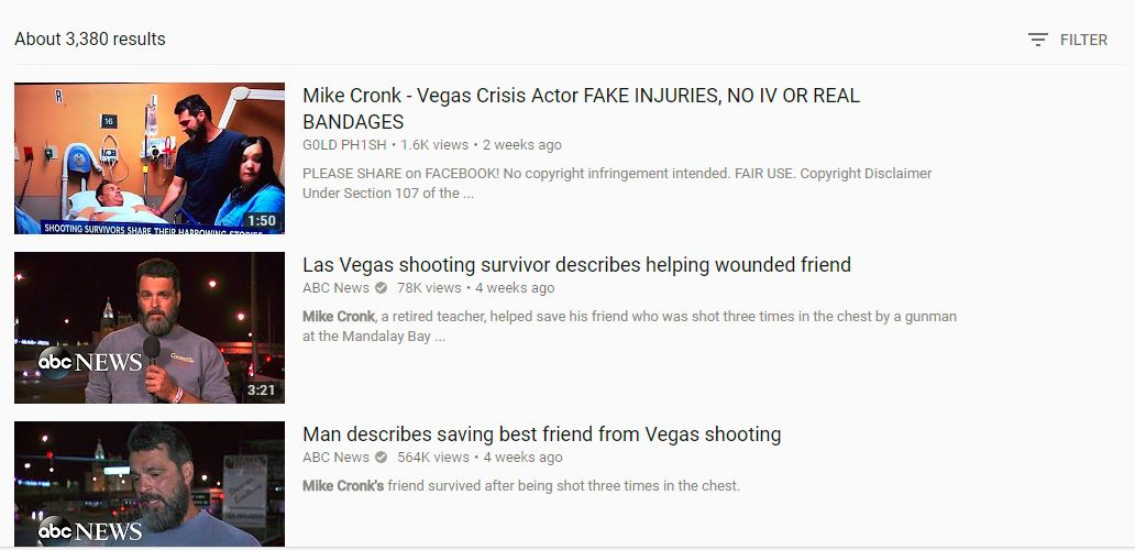a youtube screen grab with conspiracy theories