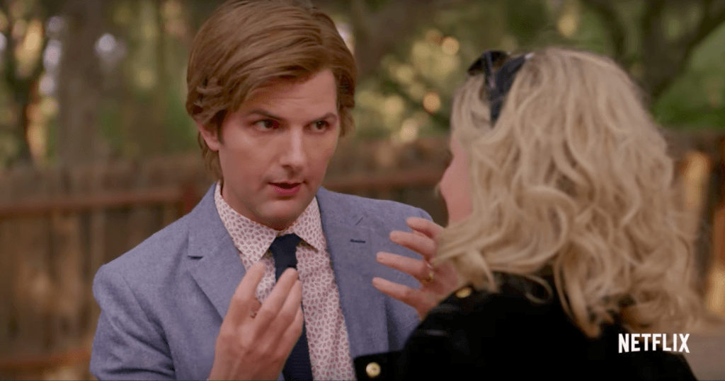 Adam Scott in Wet Hot American Summer: Ten Years Later