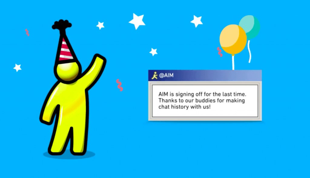 AOL Instant Messenger will shut down next month