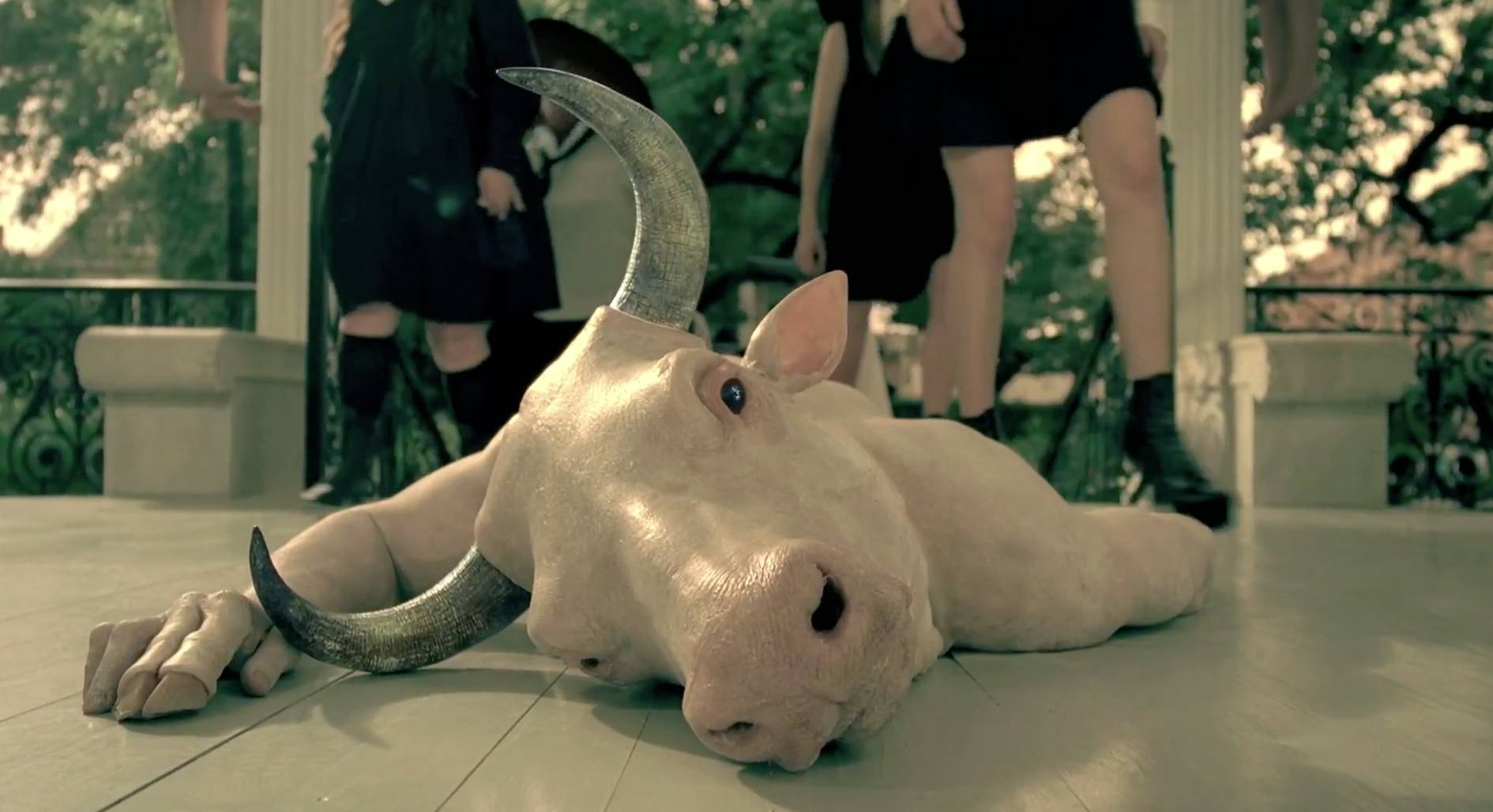 The Minotaur in American Horror Story: Coven