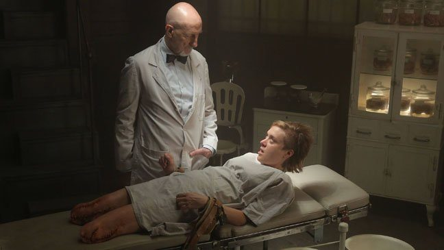 Dr. Arden and Shelley in American Horror Story: Asylum