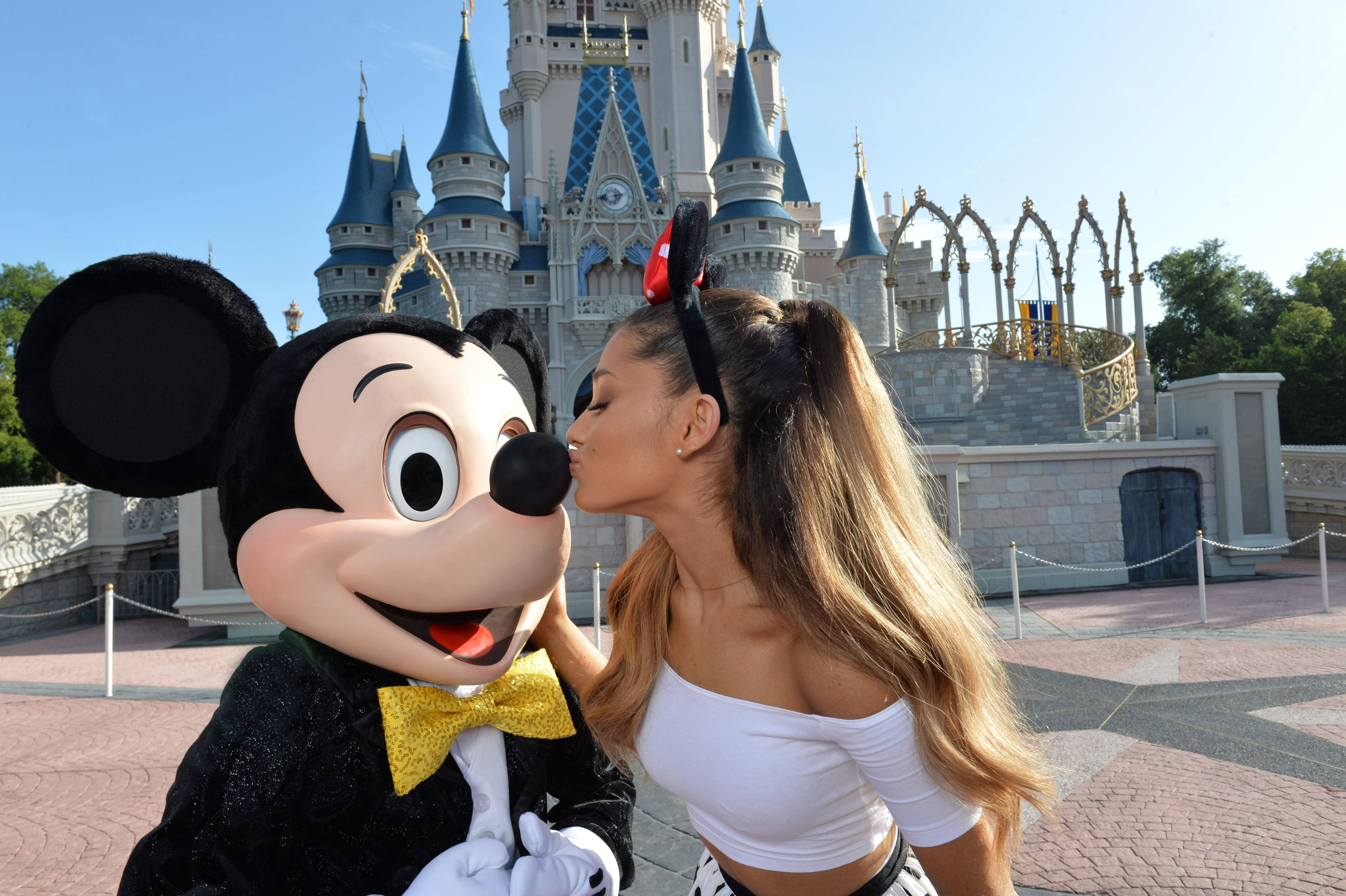 Ariana Grande at Disney