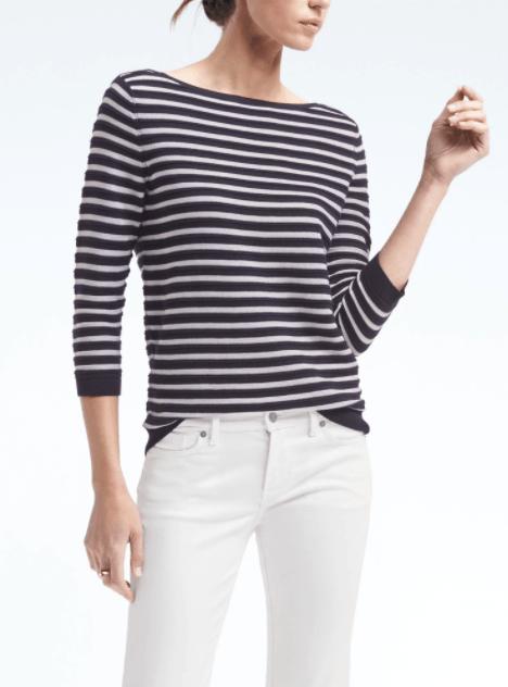 Banana Republic striped sweater