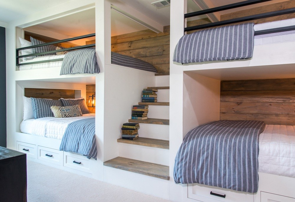 Bunk beds fixer upper