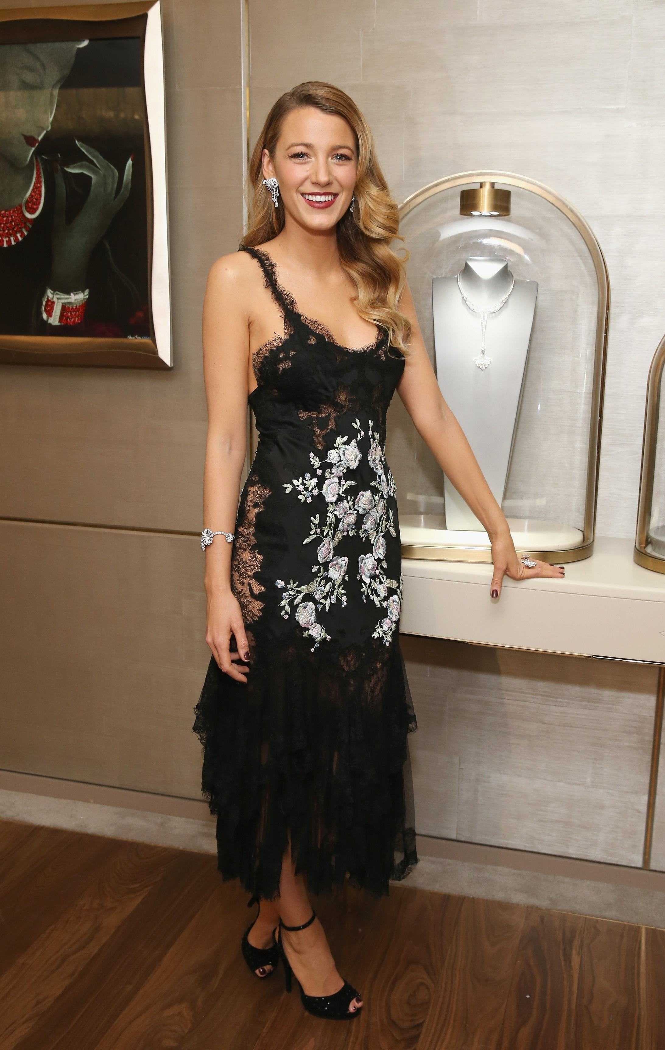 Blake Lively Marchesa