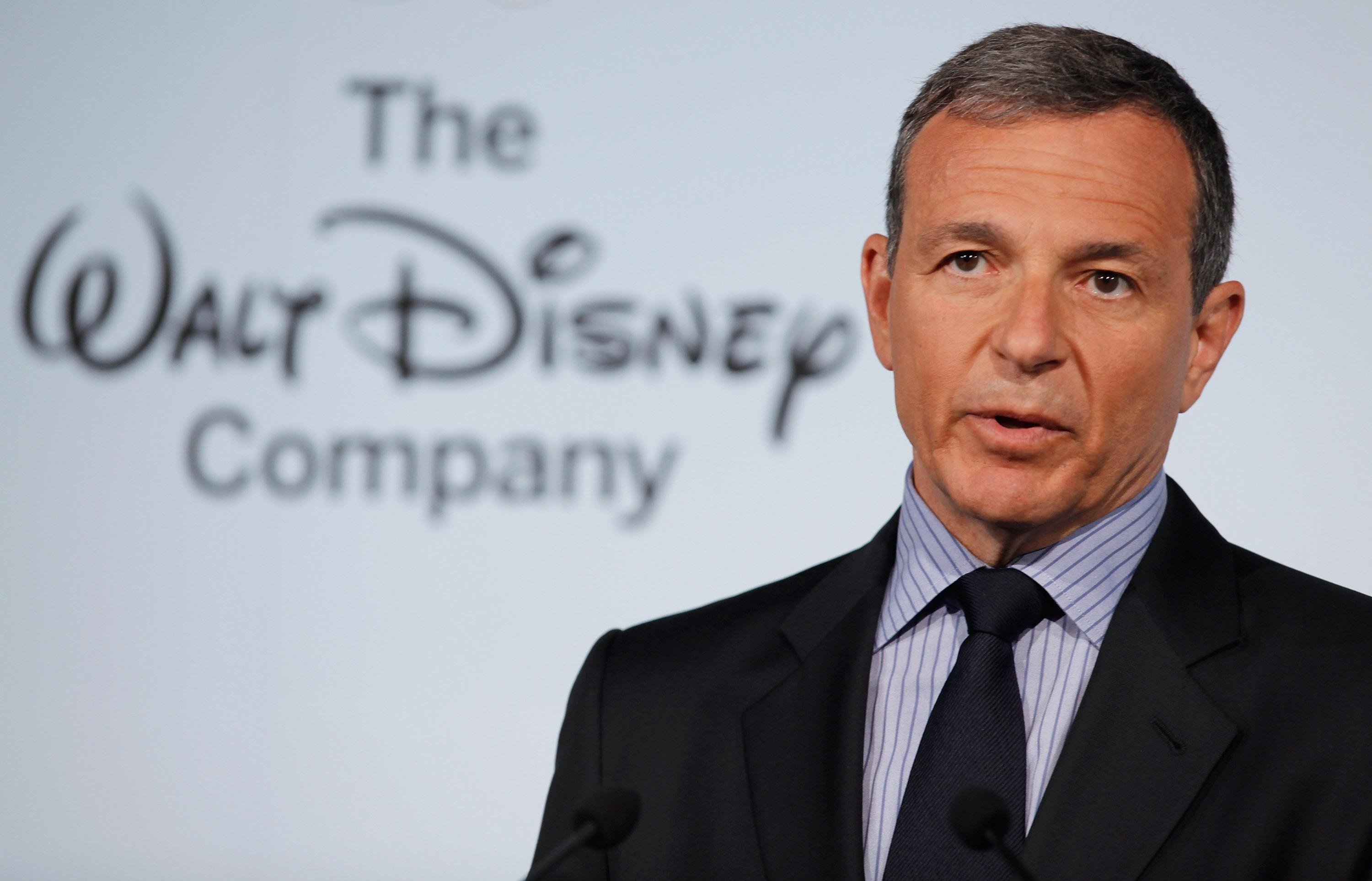 The Walt Disney Company Chairman and CEO Robert Iger.