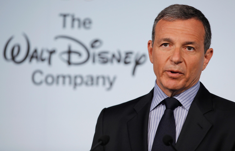 The Walt Disney Company Chairman and CEO Robert Iger.