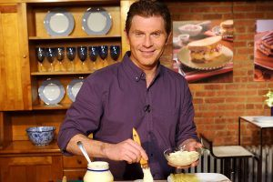Why Bobby Flay Puts Chicken Broth on Thanksgiving Dishes (and Other Cooking Tips From the Chef)
