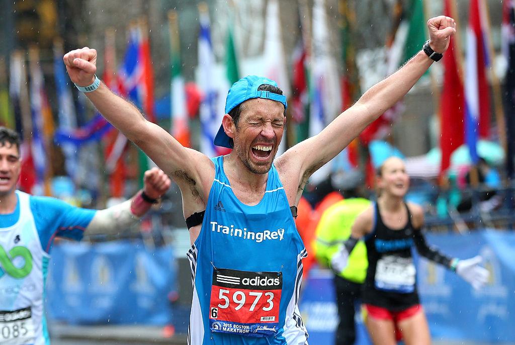Boston Marathon Runner