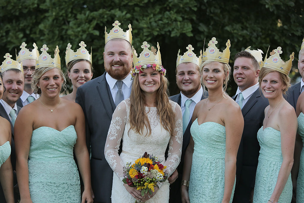Burger King wedding