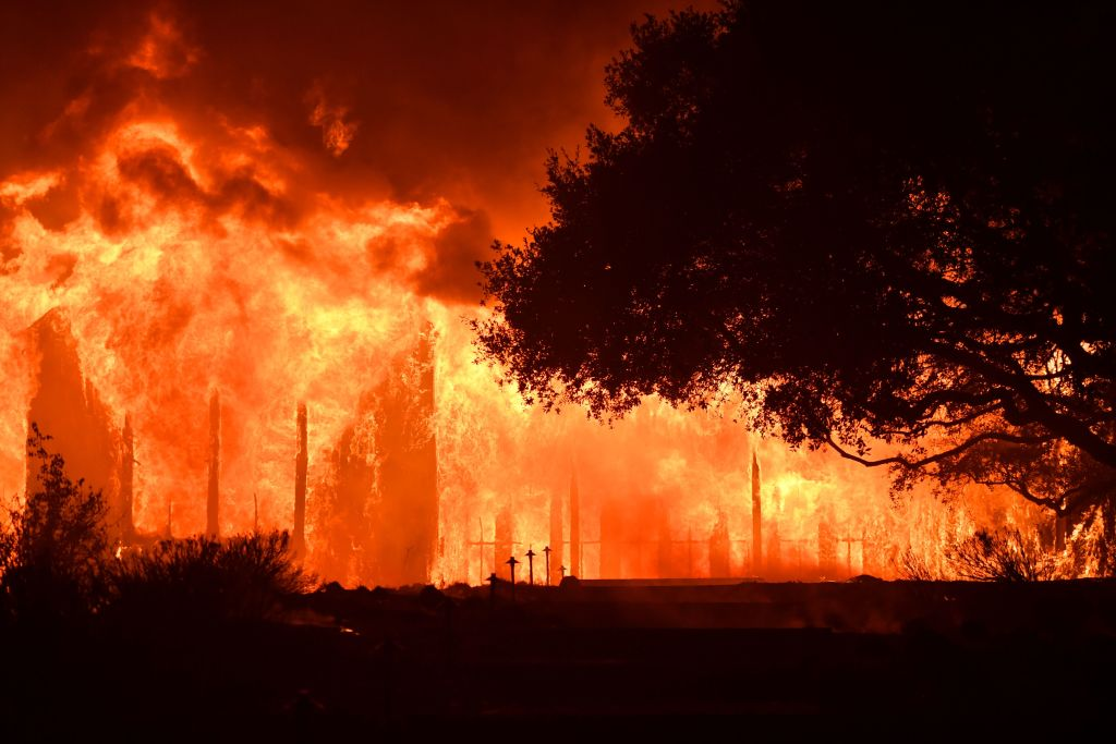 Wildfires in Napa